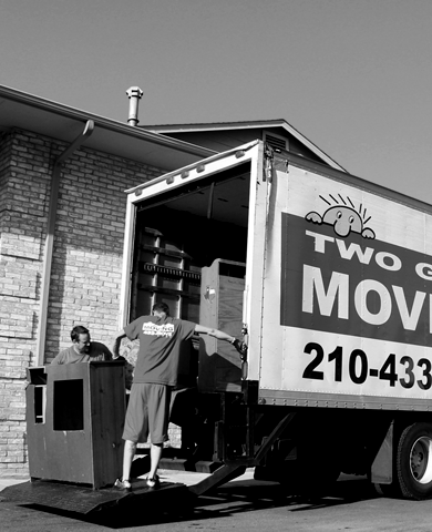 Two Guys Moving of San Antonio is a family and veteran owned and locally operated company