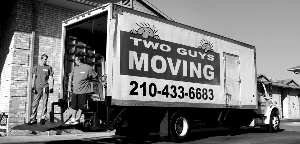 Two Guys Moving of San Antonio is a family and veteran owned and locally operated company - Contact Us Today
